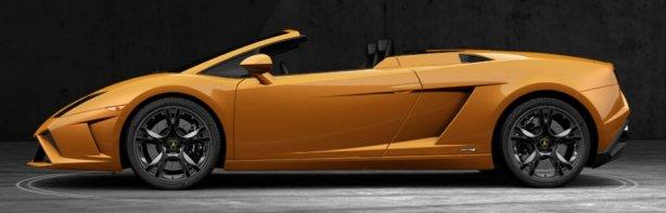 Lamborghini Gallardo Spyder LP560-4 in Arancio Borealis