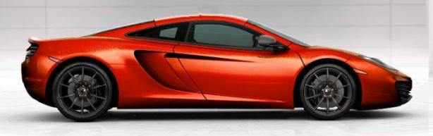 McLaren MP4-12C in Volcano Orange