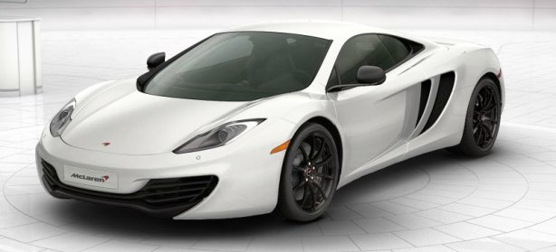McLaren MP4-12C in White
