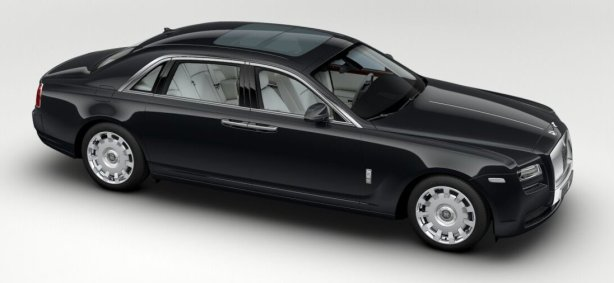 Rolls Royce Ghost EWB in Gunmetal