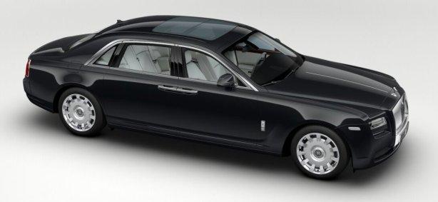 Rolls Royce Ghost EWB in Gunmetal