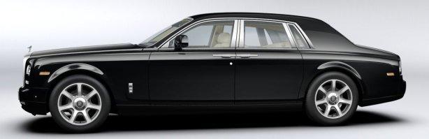 Rolls Royce Phantom Series II in Diamond Black