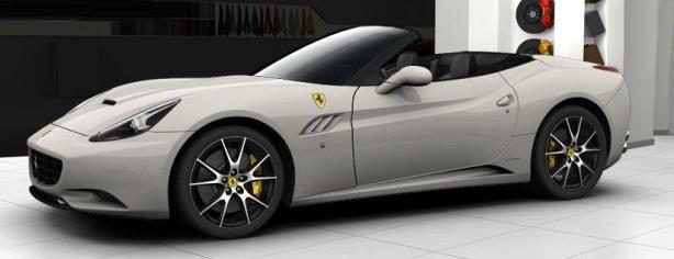 Ferrari California in Bianco Avus