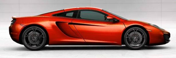 McLaren MP4-12C in Volcano Orange