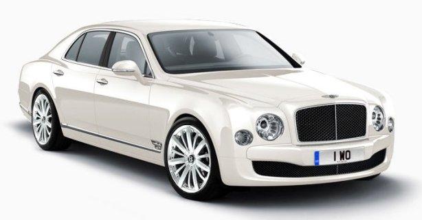 Bentley Mulsanne in Glacier White