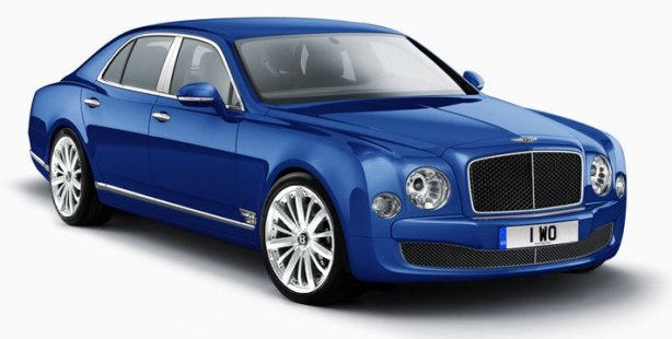 Bentley Mulsanne in Moroccan Blue