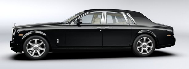 Rolls Royce Phantom in Diamond Black