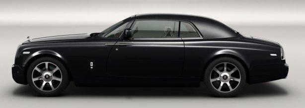 Rolls Royce Phantom Coupe in Diamond Black