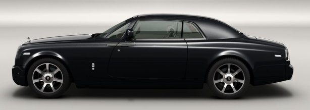 Rolls Royce Phantom Coupe in Diamond Black