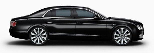 Bentley Flying Spur in Onyx Black