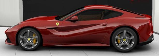Ferrari F12berlinetta in Rosso Corsa