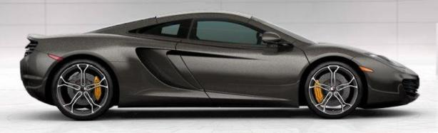 McLaren 12C Coupe in Graphite Grey