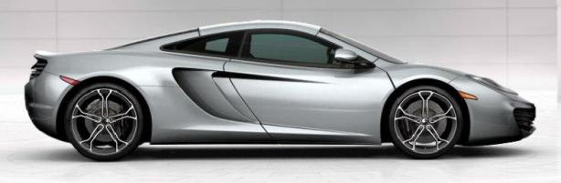 McLaren 12C Coupe in Ice Silver
