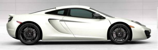 McLaren 12C Coupe in Pearl White