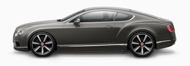Bentley Continental GTV8 in Granite