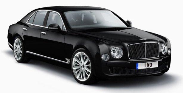 Bentley Mulsanne in Onyx Black