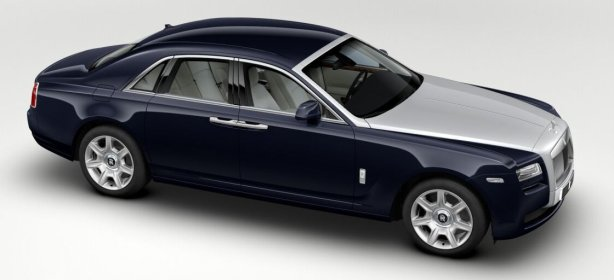 Rolls Royce Ghost in Dark Indigo