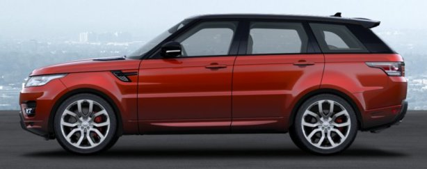 Range Rover Sport Autobiography in Chile Red