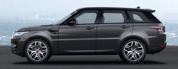 Range Rover Sport Supercharged in Corris Grey