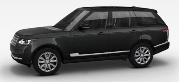 Range Rover Vogue in Santorini Black