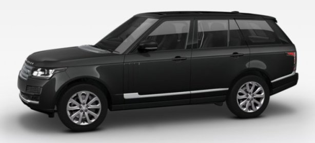 Range Rover Vogue in Santorini Black