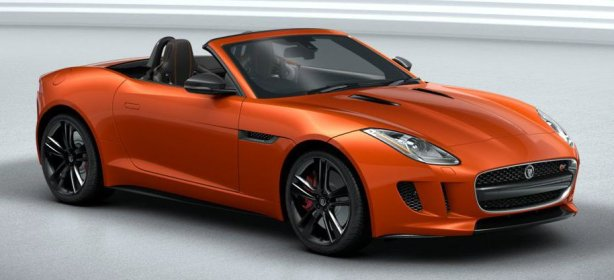 Jaguar F-Type 5.0 V8 in Firesand