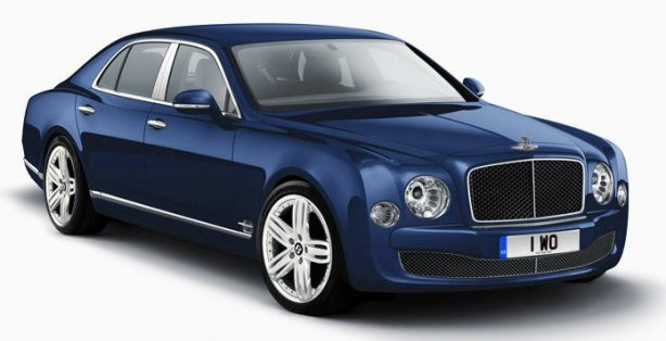 Bentley Mulsanne in Light Sapphire