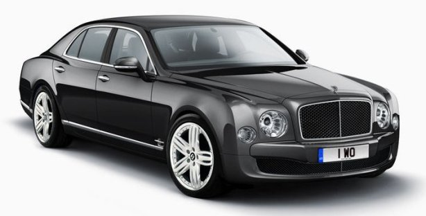 Bentley Mulsanne in Anthracite