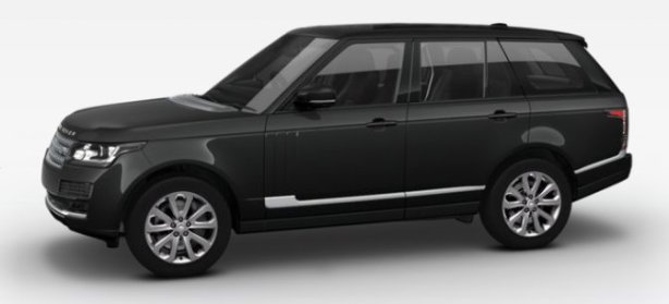 Range Rover 3.0 TDV6 Vogue in Santorini Black