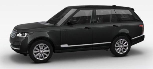 Range Rover 3.0 TDV6 Vogue in Santorini Black