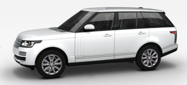 Range Rover 3.0 TDV6 Vogue SE in Fuji White