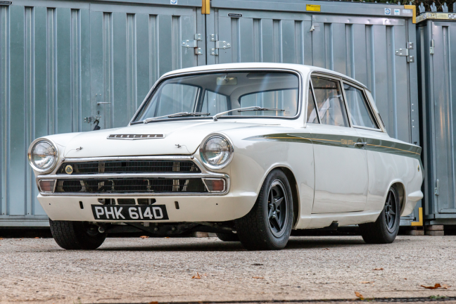1966 Ford Cortina Lotus. Ex-works