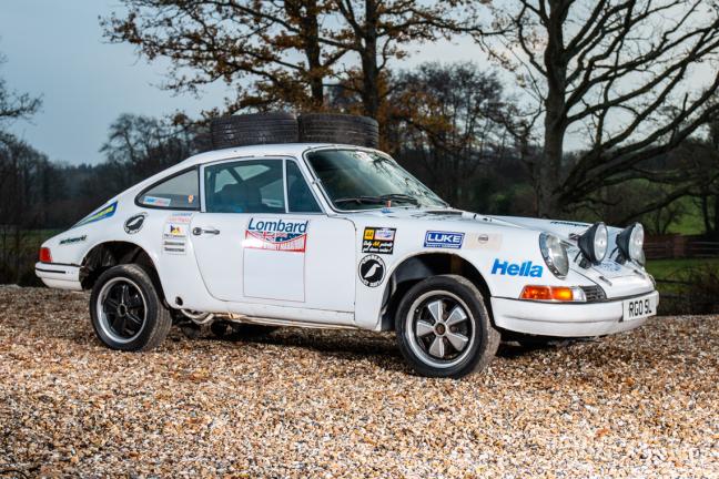 1973 Porsche 911E - (1993 London - Sydney)
